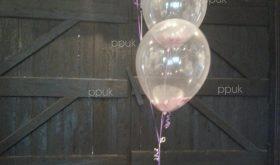 petals and balloons
