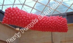 shopping centre balloon drop