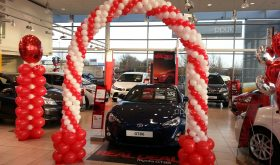 spiral arch toyota cambridge